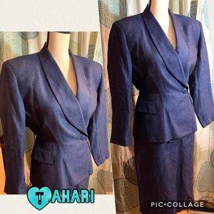 Tahari skirt suit set